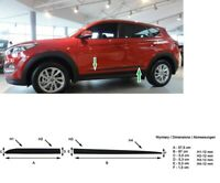 Moulding Side Protector Door Protection for Hyundai Tucson II 2015-