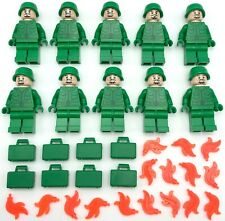 LEGO 10 NEW ARMY MINIFIGURES NAVY SEAL WORLD WAR 1 2 FIGURE PEOPLE