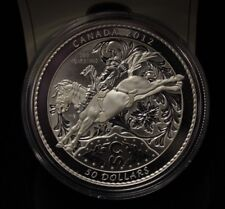 2012 $50 Fine Silver Proof Calgary Stampede