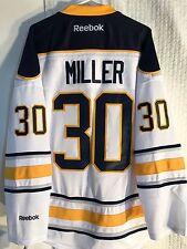 Reebok Premier NHL Jersey Buffalo Sabres Ryan Miller White sz L