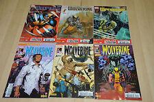 lot 6 albums WOLVERINE série 2013 n°1 2 3 + Regenesis 1 2 11 - Marvel Comics