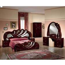 Mahogany Bedroom Furniture Sets With Bedside Table