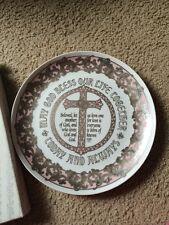 Roman Inc Wedding Plate Deco-Mori 1993 Gilded Anniversary 60360 Beautiful Box