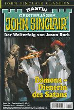 JOHN SINCLAIR CLASSICS Nr. 54 - Damona - Dienerin des Satans - Jason Dark