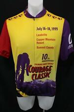 PEARL IZUMI 1999 10TH ANNIVERSARY Courage Classic 3/4 ZIP CYCLING JERSEY XL