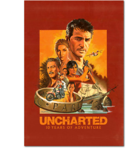 Uncharted 4 Poster - 10th Anniversary Poster Print, High Quality Prints