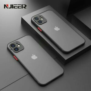 Shockproof Silicone Bumper Case Iphone 12 11 Promax Luxery Transparent Matte