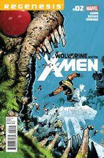 WOLVERINE AND THE X-MEN VOLUME 1 ISSUE 2 -  JASON AARON REGENESIS
