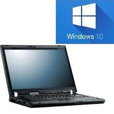 "LENOVO WIN10 IBM THINKPAD LAPTOP NOTEBOOK R61 WINDOWS 10 15"" Display"