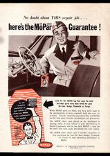 "1956 MOPAR CHRYSLER PARTS AD A4 POSTER GLOSS PRINT LAMINATED 11.7""x8.3"""