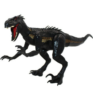Jurassic World Battle Damage T-Rex Velociraptor Dinosaur Action Figure Toys NEW