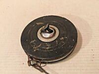 Vintage 100' Cloth Wind Up Measuring Tape