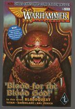 WARHAMMER MONTHLY #25 VF+ 8.5 UNREAD 1999 GAMES WORKSHOP BLOODQUEST DARKBLADE