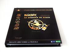 NICKY LA APRENDIZ DE BRUJA BLU RAY EDICION DELUXE NUEVO ( SIN ABRIR ) GHIBLI