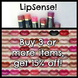 GOING OUT OF BUSINESS SALE!! LIPSENSE WATERPROOF LIPSTICK, GLOSS OR OOPS!