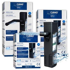 Ciano CF Internal Filter CF20 CF40 CF80 Aquarium Filtration & Media Fish Tank