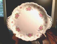 Royal Albert Tranquility Handled Cake Plate - Lovely