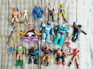 Vintage Figure Toy Bundle Lot He Man Thundercats G1 Transformer Terminator