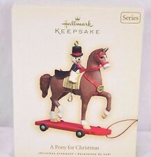 Hallmark Keepsake Ornament A Dressage Pony For Christmas 2008 #11 In Series