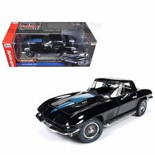 AUTO WORLD 1/18 1967 CHEVROLET CORVETTE 427 STING RAY MUSCLE CAR AMM1099