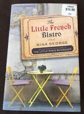 The Little French Bistro / Nina George Hard Back FREE SHIPPING