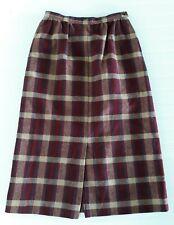 New listing Miss Pendleton Skirt Vintage Size 8 Wool Red Plaid