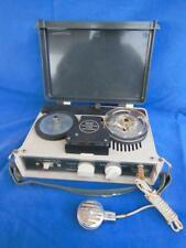 Vtg Continental Transistor Tape Recorder Tp-394 Reel To Reel Battery Operated