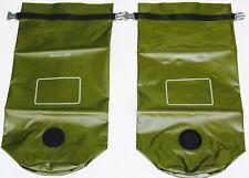 TWO NEW USMC MACS SACK WATERPROOF DRY BAG US MARINE MILITARY ILBE FILBE 9L NEW