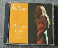 Dalida, Olympia 1974 - enregistré en public, CD