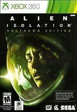 XBOX 360 ALIEN ISOLATION NOSTROMO EDITION BRAND NEW VIDEO GAME