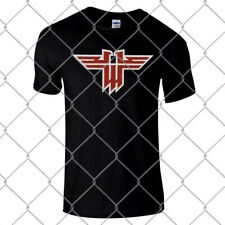 Wolfenstein super high quality premium black regular fit T Shirt
