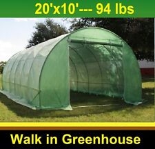 Green Garden Hot House Greenhouse 20' x 10' Round (B2) - Total Weight 94 lbs