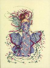 Cross Stitch Chart / Pattern ~ Mirabilia October Opal Fairy #MD132