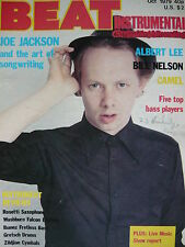 BEAT INSTRUMENTAL OCT 1979 - JOE JACKSON - BILL NELSON - CAMEL