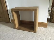 Rustic Bedside or Side Table (Made To Any Size)