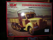 1:35 ICM V3000S/SS M Sd.Kfz.3b Maultier WWII German Semi-Tracked Truck OVP