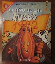 EL JUEVES - PENDONES DEL HUMOR 96 - EL AÑO DE LAS LUSES - MARTINEZ EL FACHA