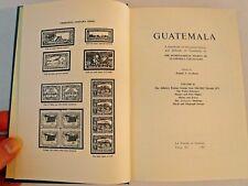Guatemala 2 The Postal History and Philately 1902-1971 Free Shipping