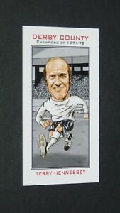 PHILIP NEILL CARD FOOTBALL 2007 CHAMPIONS 1971-1972 DERBY COUNTY RAMS HENNESSEY
