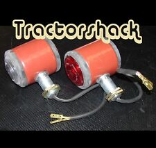 Pair of Replacement Butler type Fender Lights For Massey Ferguson 35 Tractor