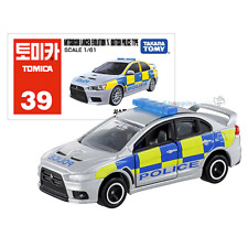 Takara Tomy Tomica #39 Mitsubishi Lancer Evolution X British Police Type Toy