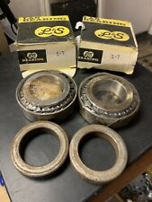 L&S S-7 Delco Wheel Bearing Set Of 2 Front New for Chevy Le Sabre