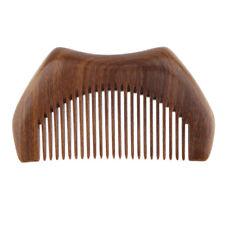 Wood Comb Handmade Natural Green Sandalwood Women/Men Pocket Beard/Hair Comb