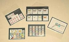 1000 Prophila A6/c6 Approval Cards Stockcards with 4 Clear STRIPS negro