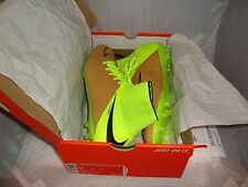 NIKE Hypervenom Phantom II Leather FG Mens Cleat 747501-707 CANVAS/BLACK-VOLT 11