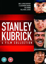 Stanley Kubrick: 4-film Collection DVD (2013) Keir Dullea, Kubrick (DIR) cert