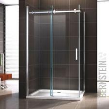Duschkabine Duschabtrennung Türsystem aus Edelstahl NANO ESG- Echtglas Glas