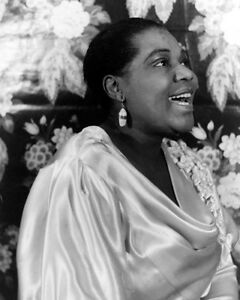 1936 American Blues Singer BESSIE SMITH Glossy 8x10 Photo Print Empress Poster