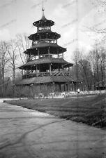 negativ-München-Bayern-1937-Pavillion-Garten-7
