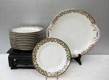 Ancienne porcelaine de Limoges service pour dessert